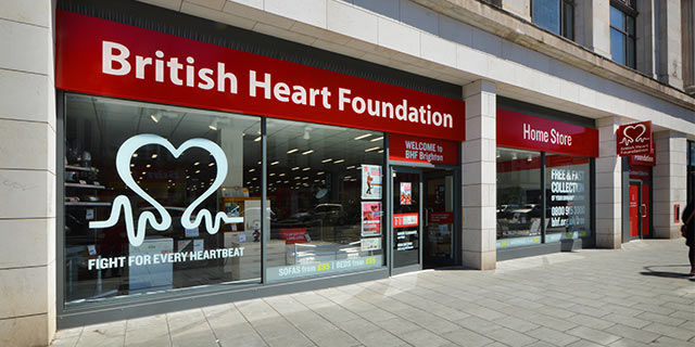 British Heart Foundation - 10% Student Discount