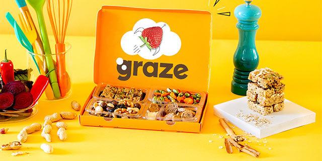graze - 1st box free + 15% off future snack boxes