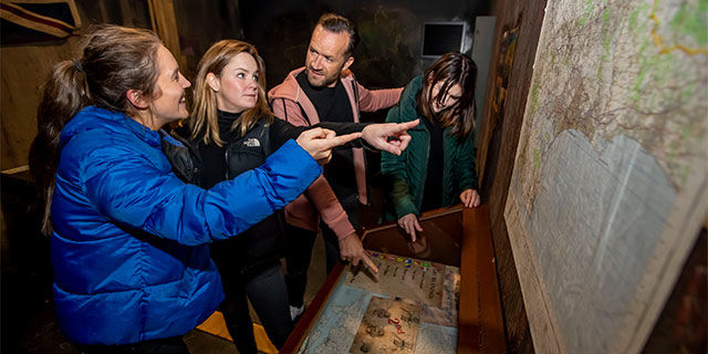 The Bear Grylls Adventure - Escape Rooms for £14.40