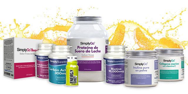 Simply Supplements - 20% de descuento para estudiantes