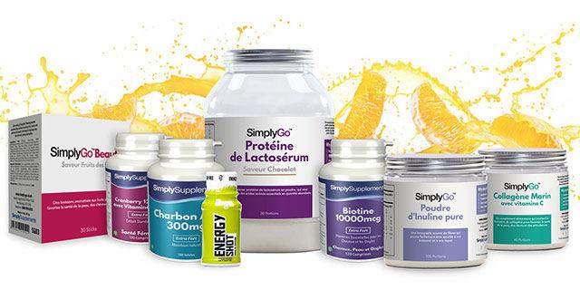 Simply Supplements - 20% de réduction pour les étudiants