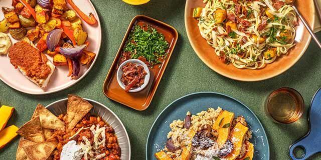 HelloFresh - 50% off 1st recipe box + 30% off next 3 boxes