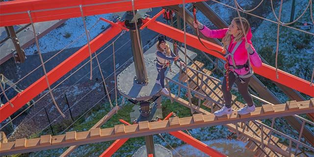 The Bear Grylls Adventure - High Ropes for £19.20