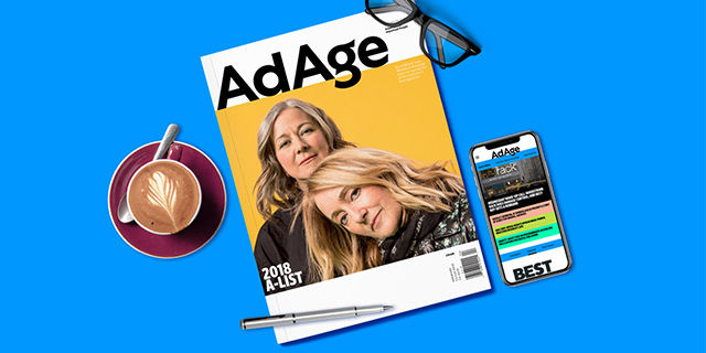 Ad Age - $49 One Year Print + Digital Subscription