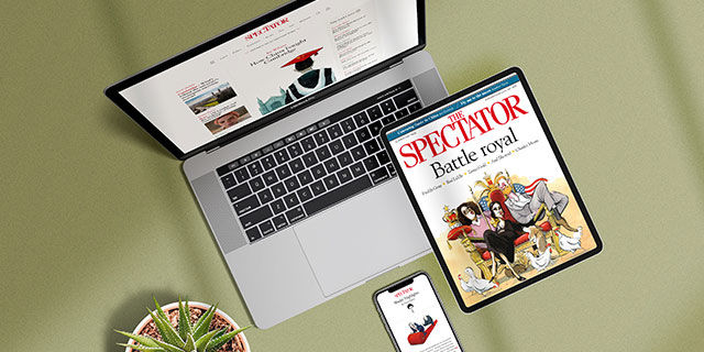 The Spectator - Try FREE for 1 month then £4.99 every 4 weeks