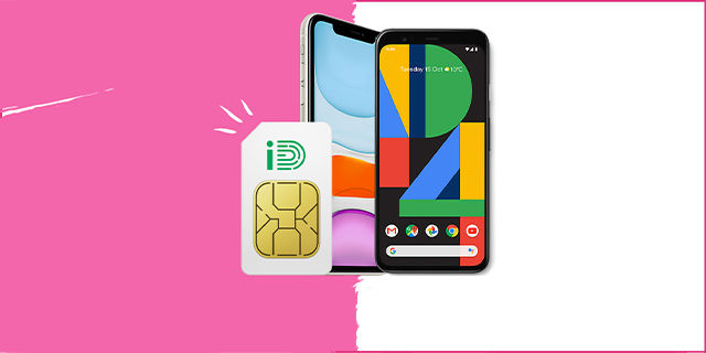 Mobiles.co.uk - £5 Saving and Double Data on iD Mobile Sim Only