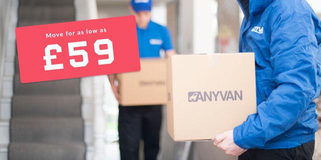AnyVan - £10 Student Discount