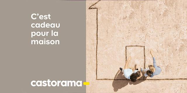 Castorama - -4.0% sur une e-carte utilisable sur promos et soldes