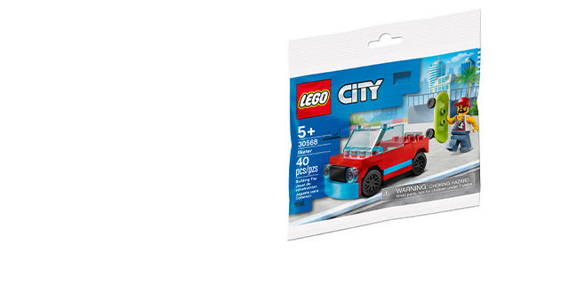 LEGO - Free Friends Flower Cart (30413) with any LEGO®️ product purchase