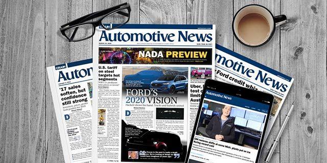 Automotive News - $49 Print + Digital + Online Access