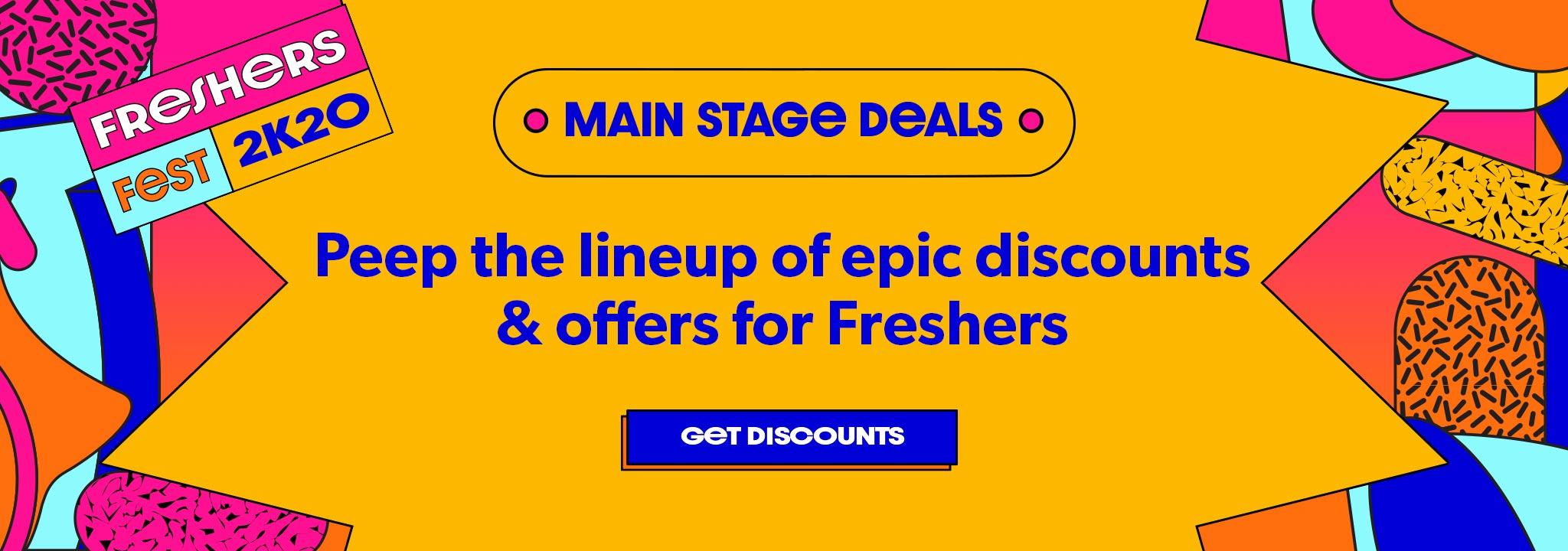 Main Stage Deals