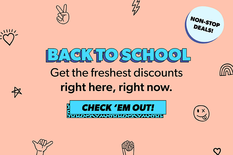 All student discounts, offers, deals & vouchers 2019